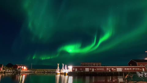 The Stunning Aurora Borealis Northern Lights