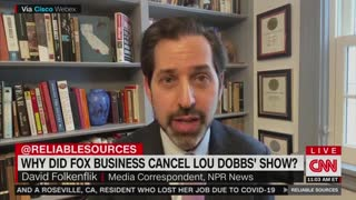 Brian Stelter on Lou Dobbs