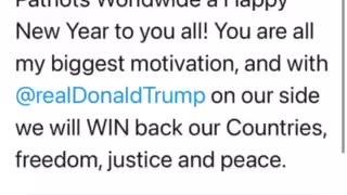 Trump 2021 Happy New Years