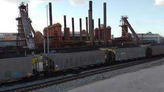Train @ Sloss Furnace National Historic Location