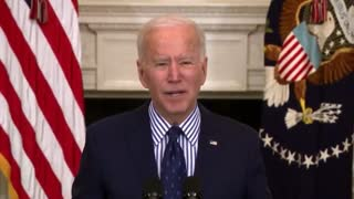 Biden Struggles To Read Teleprompter