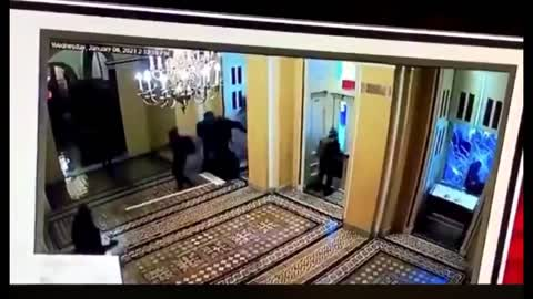 Black Clad Team Breaking Into The Capitol On Jan 6th   The Washington Pundit