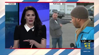Small Business Owner Crashes News Report to Speak Out Against Lockdowns