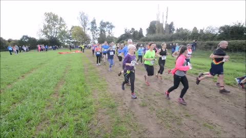 Joggers turn out for Pattingham Bells Run