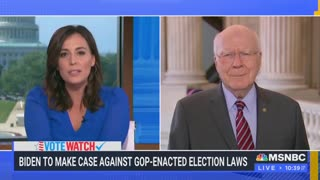 Patrick Leahy dodges question on filibuster