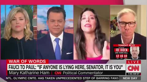 The Guests Were Shook! This Factual Take on Dr. Fauci Is a CNN Rarity