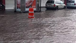 Flooded Streets of Mexico