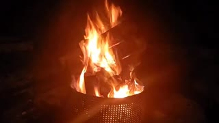 Night Fire Time