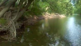 Tuscarawas River in Canal Fulton Ohio