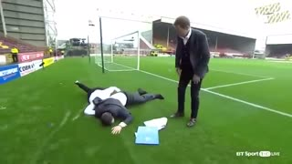 10 FUNNY MOMENTS WITH REPORTERS IN SPORTS !! funny videos ! Rumble