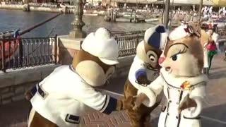 MR & MRS Chipmunks Show Dance With Me Senorita