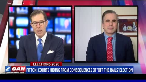 Tom Fitton: The Courts Are Hiding the Consequences of an Election that Went 'Off the Rail'