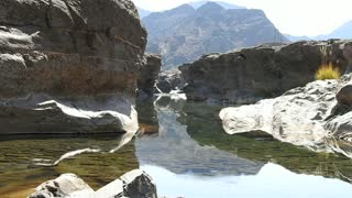 Beautiful waterfall and fresh water