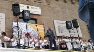 Straordinario intervento di Antonio Bilo Canella alla manifestazione a Bologna