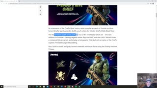 Master Chief Joins Fortnite!
