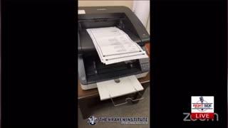 Georgia Hearing on Election Fraud. Computer fraud shown by adjudicator.