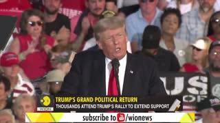 Donald Trump comeback rally (FULL NEWS )