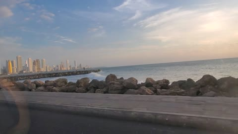 Cartagena beach drive... Colombia