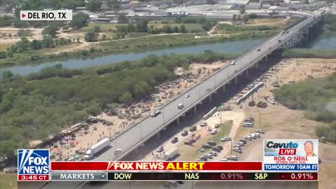 WOW: New Video of Del Rio Texas Border Crisis Released, THOUSANDS Pouring Across Border