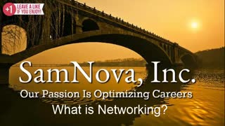 Optimize Your Career | What is Networking?
