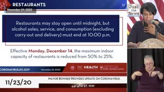 D.C. imposes new coronavirus lockdown restrictions