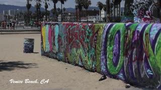 Graffiti Wall, Venice Beach