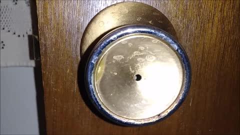 Turn the knob