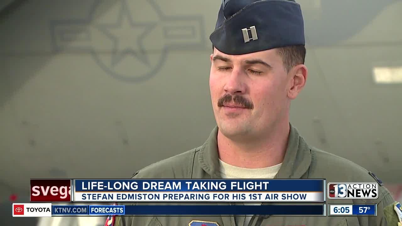 Lifelong dream taking flight