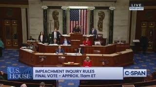 Cole speaks in impeachment vote hearing