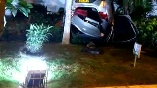 Accidente de tránsito en la avenida Santander