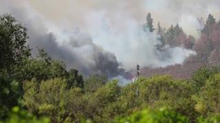 Nuevas imágenes de los incendios en California
