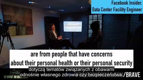 Demaskatorzy z Facebooka o potajemnej cenzurze dotyczącej szczepionek na skalę globalną [napisy PL]