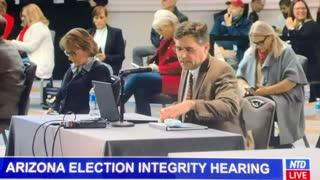 Michigan election fraud testimony - chain of custody was broken