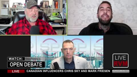 FIREWORKS! Chris Sky vs Mark Friesen - Patriot vs Politician Debate Recent Controversy