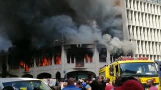 Grey Street Mosque fire