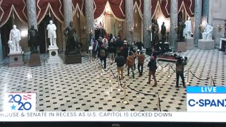 Protesters have breached the Capitol