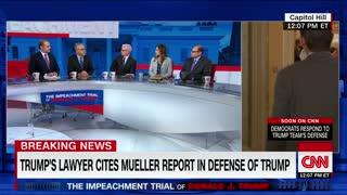 Toobin on Trump's impeachment defense team