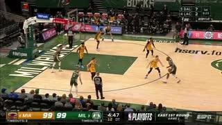 Heat Vs Bucks game highlights
