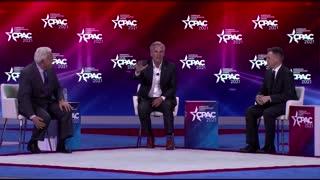 Trump loyalists speak at conservative gathering