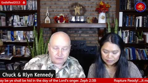GOD IS REAL: Are you Rapture Ready? Zephaniah 2:3 -Pastor Chuck & Rlyn Kennedy