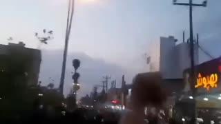 "Iranian protestors chant ""death to khamenei"""