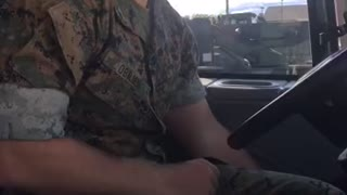 Marines get pulled over