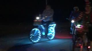 Bicycle Christmas Light Parade