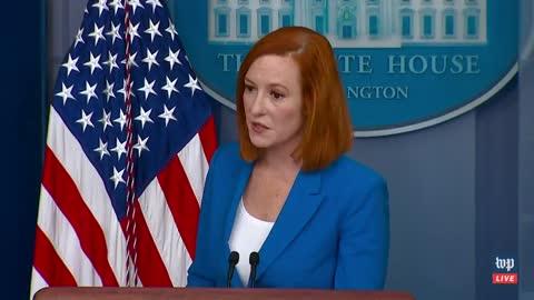 """WATCH: Press Secretary Jen Psaki admits crime is """"rising"""" across the country on Biden's watch."""