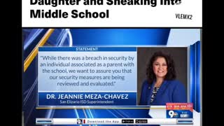 Texas mom arrested after dressing up as a 13-year-old and sneaking into Middle School