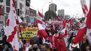 Perú deja ver división tras resultados electorales