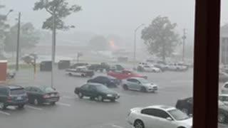 Lightning Strike on Camp Lejeune