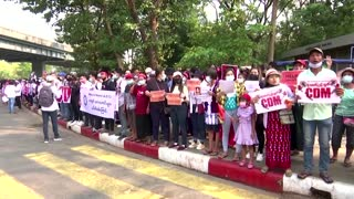 Myanmar protests gather after worst violence yet