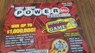 5x Symbol on a Powerball Ticket!!!! Sweet 💰💵💲