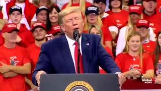 President Trump KMA